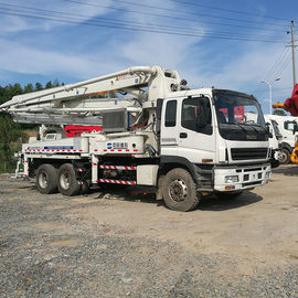 China HOT sales High Quality Zoomlion  37 50 52 m Uesd Truck Mounted  Concrete Pump Truck  for Sale in China distributor